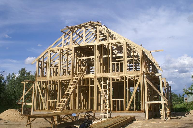 Каркасные дома - строительство современного жилья